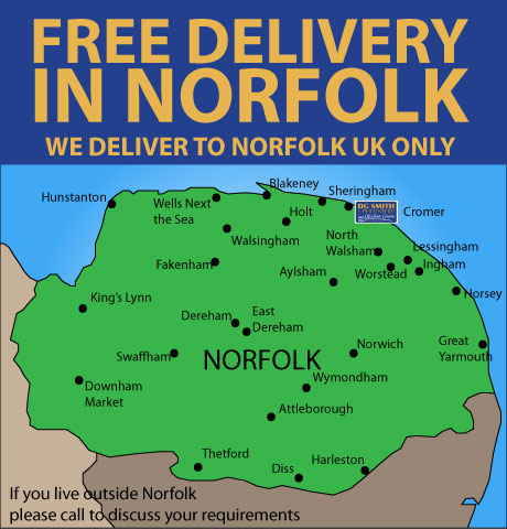 FREE DELIVERY Norfolk