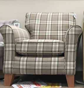 Ex-Display – Alstons Lancaster Accent Chair