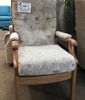 Ex-Display – Fireside Chair by Cintique