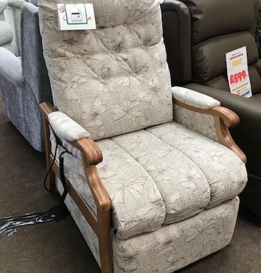 Ex-Display – Cintique Lift & Rise Recliner Chair